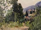 """Olga Sergeyevna Malyutina """"Landscape"""""""