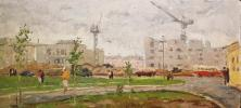 "Gennady Vasilyevich Filatov ""New buildings of the city of Togliatti."""