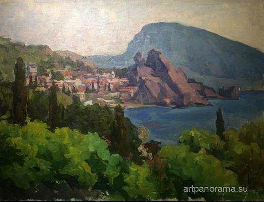 Sretensky Grigory - Crimea. Bear mountain.