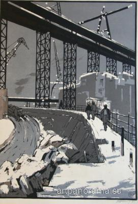 Denisov Vasily Filippovich - Overpass.