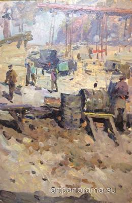 Alekseyev Adolf Yevgenyevich - Barrels of fuel