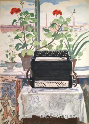 Titov Anatoly Mikhaylovich - Accordion.