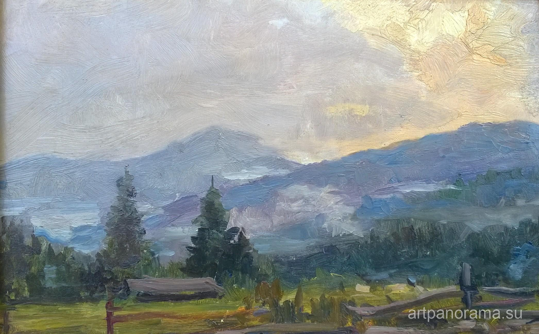 Denisov - Evening in the Carpathians